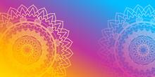 Background Design With Mandala...