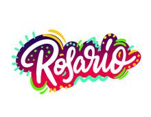 Rosario Word Text With Handwri...