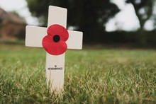 Poppy Remembrance Cross