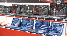 Set Socket Wrenches In Box At Store