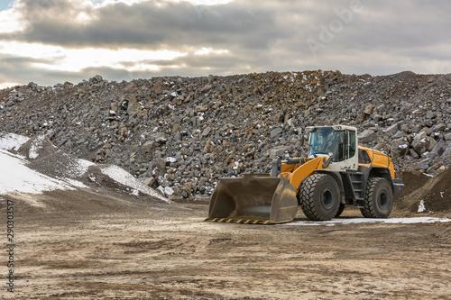 Fotografía  Heavy machinery for construction