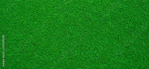 Foto auf AluDibond Gras green grass background, football field