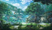 Fantasy Abandoned City - Day
