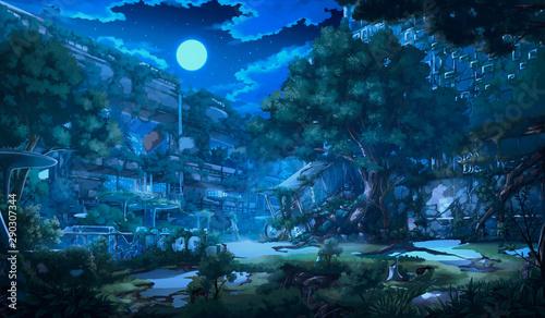 Fantasy Abandoned city - 290307344