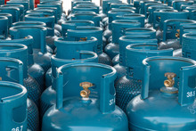 LPG Gas Bottle Stack Ready For...