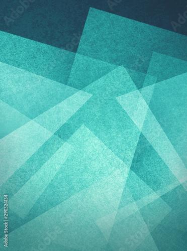 niebieski-zielony-i-bialy-geometryczny