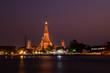 Wat Arun Temple twilight bangkok