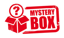 Mystery Box Rubber Stamp Templ...