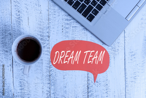 Word writing text Dream Team Canvas-taulu