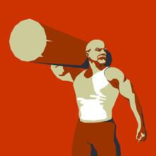 Brutal Vladimir Lenin With A L...