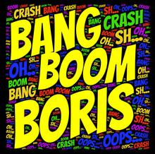Wort Cloud: Bang, Boom Boris