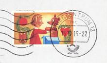 Briefmarke Stamp Umschlag Enve...