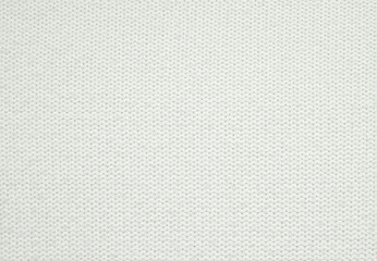 wool knitted white sweater texture close up