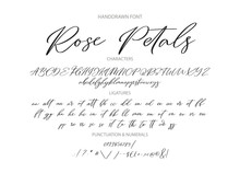 Hand Drawn Calligraphic Vintag...