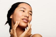 Young Natural Asian Woman Port...