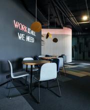 Stylish Design Of Office Lounge