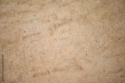 Photo  Wall for background or texture of mud baked