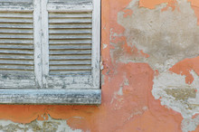 Window Shutters In Weathered H...