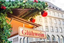 Christmas Market In Germany. M...