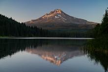 Mt. Hood Over Trillium Lake Su...