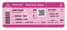 Fictitious Boarding Pass