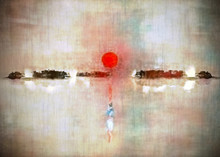 Modern Abstract Painting In Su...