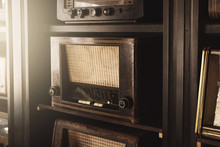 Different Old Radio Receivers