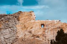 Crazy Horse Memorial Stormy Sky