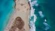 Vista desde el Cielo, playa de Formentera