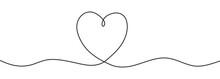 Romantic Continuous Line Drawi...