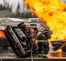 Firefighting Through The Artful Eye.