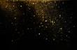 Leinwanddruck Bild - glitter vintage lights background. defocused