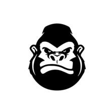 Gorilla Logo Vector Modern Des...