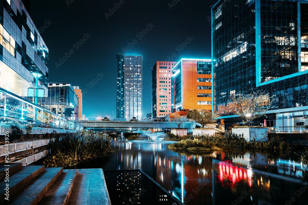 Fototapeta China Ningbo Cityscape