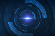 Abstract Time Travel Background