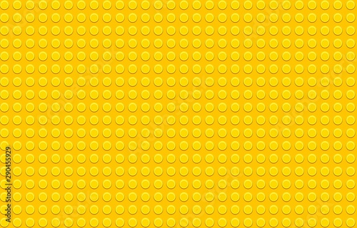 Photographie  Yellow plastic construction plate
