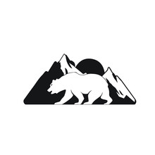 Bear Logo Vector Modern Design