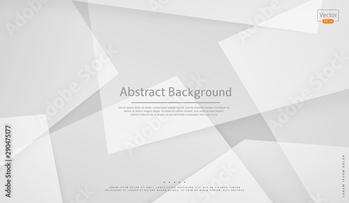 Vector Abstract white background
