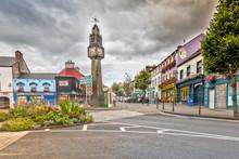 The Clock Tower In Westport, C...