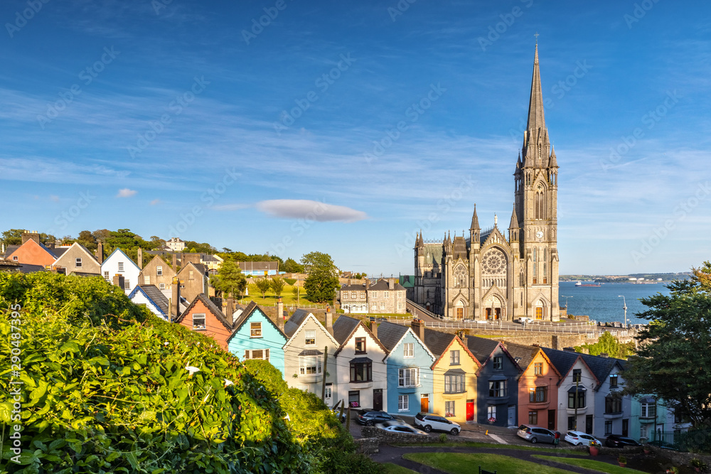 Fototapety, obrazy: Impression of the St. Colman's Cathedral in Cobh near Cork, Ireland