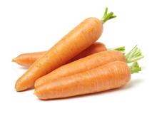Fresh Carrot On A White Backgr...