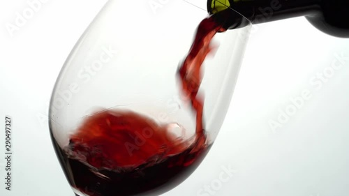 Fotografie, Obraz  pouring red wine in a glass
