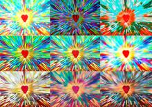 9 Radiant Hearts