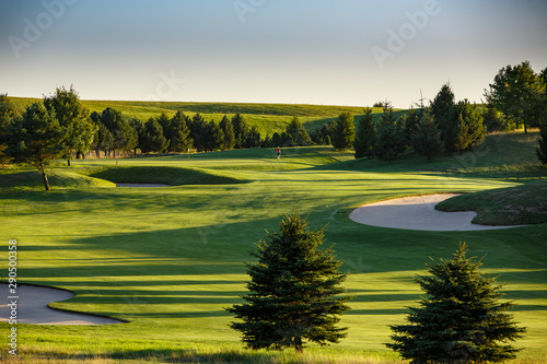 Slika na platnu Golf course, fairway