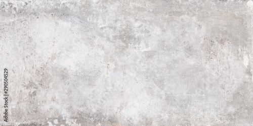 Poster Concrete Wallpaper Grey cement background. Wall texture