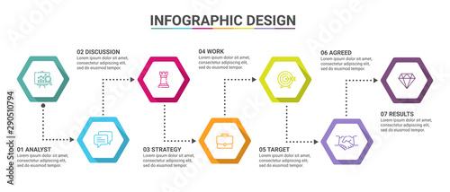 Business data visualization Poster Mural XXL