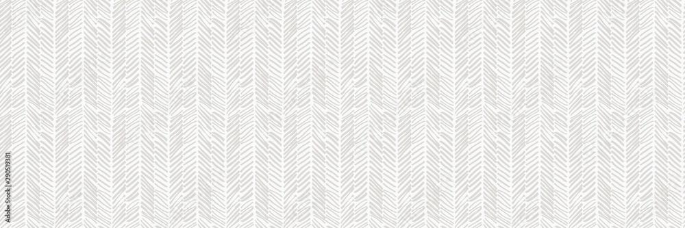 Fototapety, obrazy: Herringbone Woven Seamless Pattern
