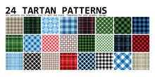 Lumberjack Tartan. 24 Patterns