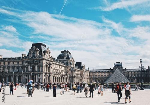 Valokuvatapetti the Louvre