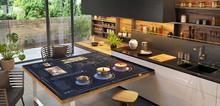 Beautiful And Modern Kitchen W...